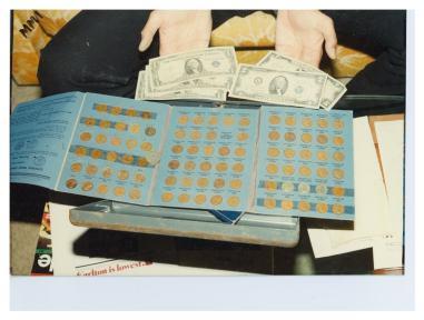 Money found in the Ryen's house.